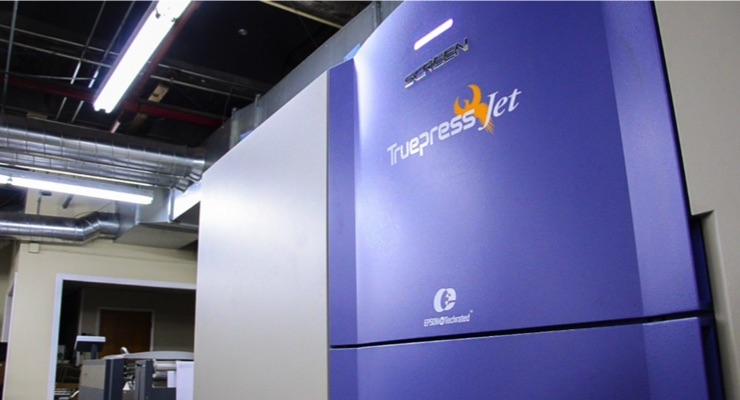DNI Corp. Installs SCREEN Truepress Jet520S