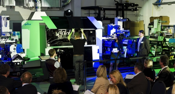 Heidelberg/Gallus Focusing on Digitization of Label Production at Labelexpo Europe 2019