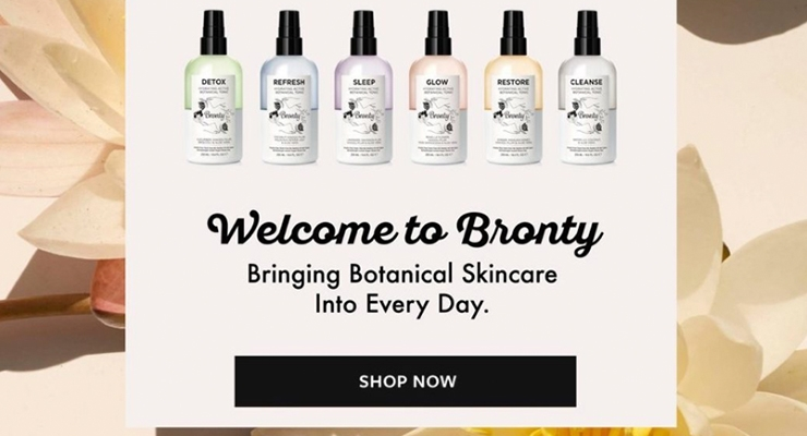 BRONTY BEAUTY | A CUSTOMIZED STOCK PACKAGING SUCCESS