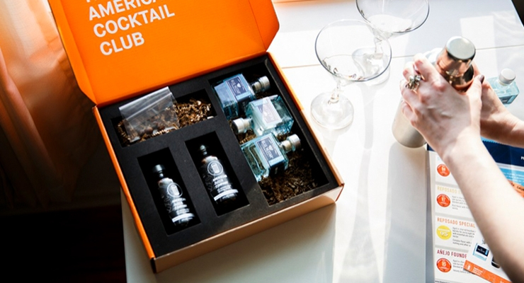 AMERICAN COCKTAIL CLUB | SPIRIT SUBSCRIPTION PACKAGING