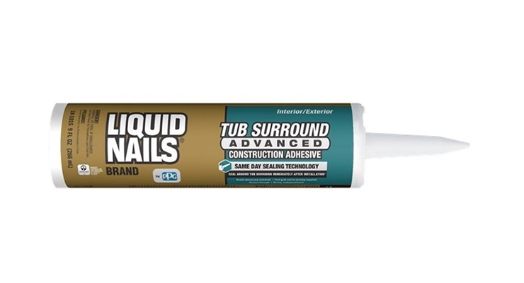 PPG Introduces LIQUID NAILS Tub Surround Advanced