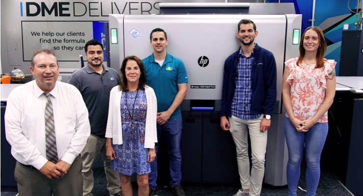 DME Delivers Adds HP Indigo 12000 Digital Press