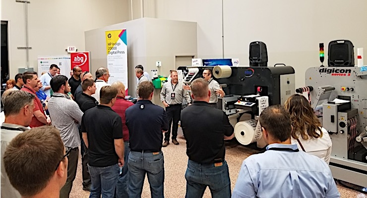 AB Graphic showcases latest technology at Digital & Converting Summit
