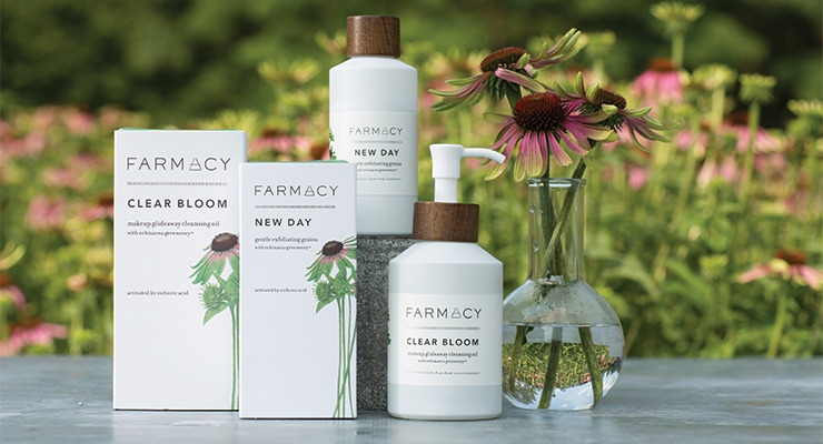 Farmacy Beauty uses FSC-certified Neenah Environment Papers for its cartons.