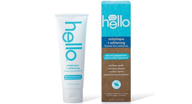 Hello uses FSC-certified paperboard for its cartons.
