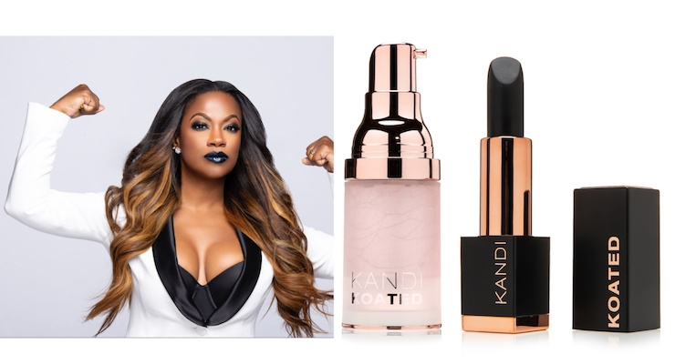 Kandi Burruss Launches 'Kandi Koated' Cosmetics Line