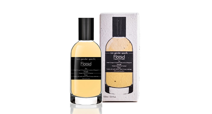 Flooid's Genderless Fragrance Debuts in a 'Plantable' Carton