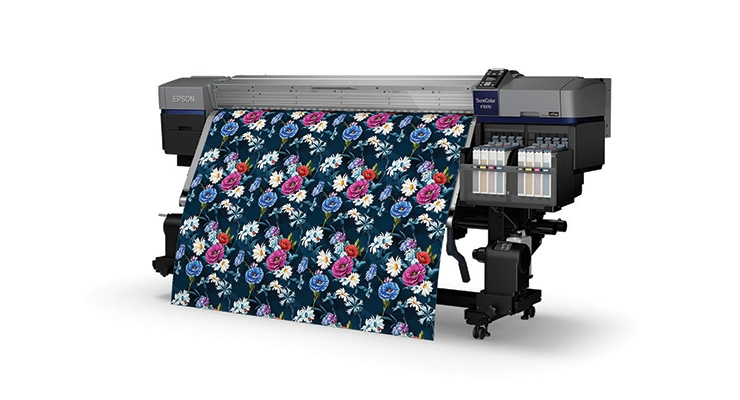 Epson's SureColor F9370 dye sublimation printer.  (Photo courtesy of Epson America)