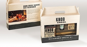Supremia creates new packaging for Knob Creek whiskey