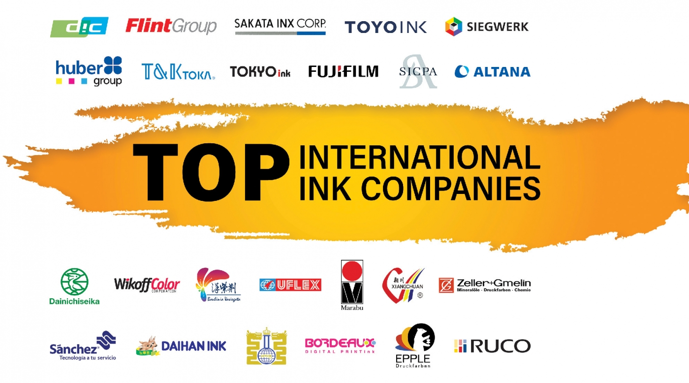 The 2019 Top International Ink Companies Report