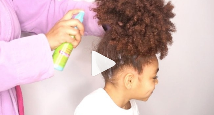 Haircare for Multiracial Children