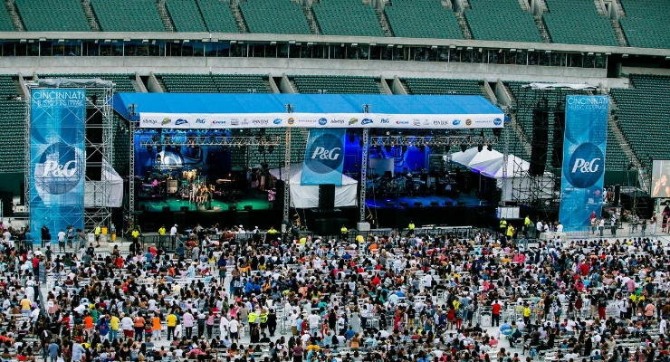 P&G invites music lovers to unite and groove to the beat of their favorite artists during the Cincinnati Music Festival. Image courtesy of Business Wire.
