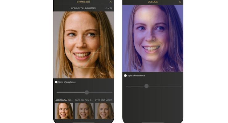 BeautyTech App Provides Facial Aging Analysis