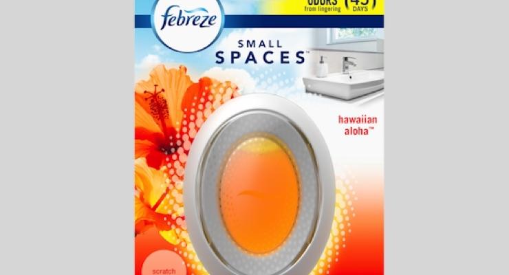 P&G Improves Febreze Small Spaces