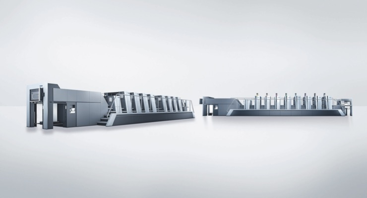 Heidelberg Launches New Ergonomic Design for Speedmaster XL 75 and CX 75