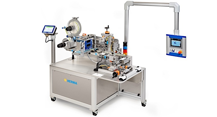 Herma US introducing new compact labeling machine