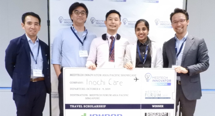 Inochi Care Wins at Medtech Innovator Pitch Event