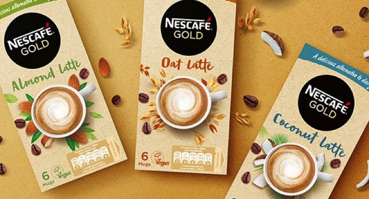 Nestlé Appeals to Vegans with Plant-Based Lattes
