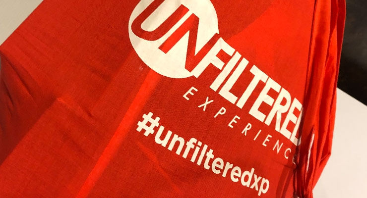 Unfiltered Experience Debuts in Las Vegas