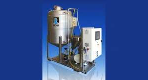 ROSS Offers Skid-Mounted High Shear Powder Induction, Mixing System with Recirculation Tank