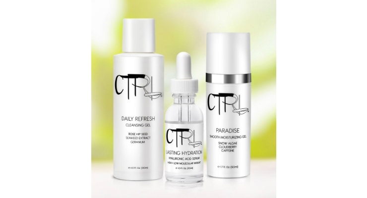 CTRL Cosmetics has formulated all of their products using carefully sourced botanicals and naturally derived extracts that hydrate, smooth and nourish skin with vital antioxidants. Image courtesy of CTRL Cosmetics.