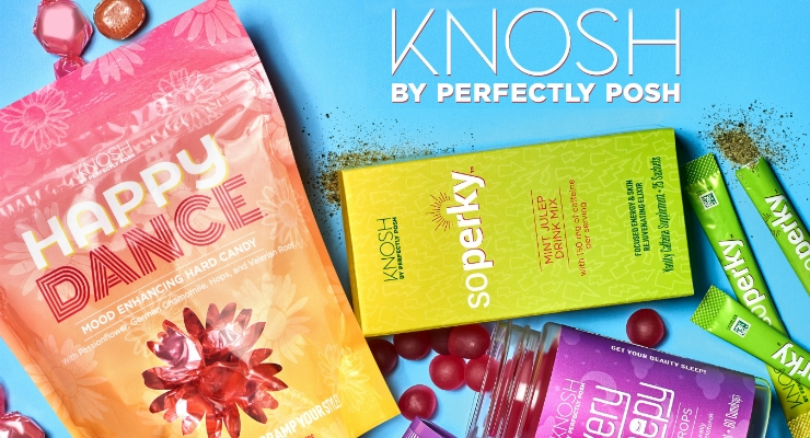 The Knosh product line. Image courtesy of PRNewswire.