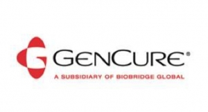 GenCure Reports Successful First Run of 80L Bioreactor