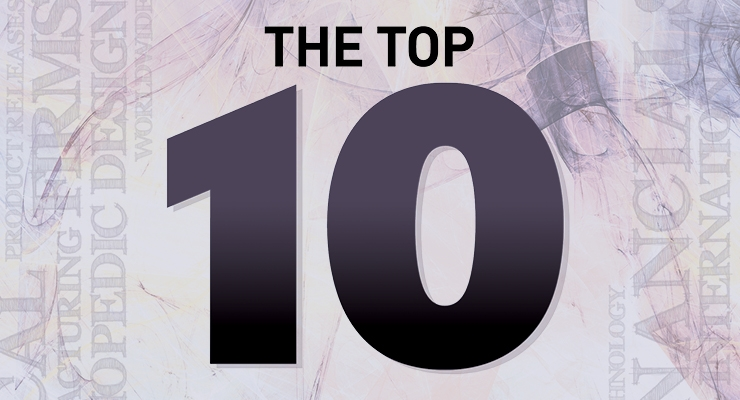 The 2019 Top 10 Global Orthopedic Device Firms