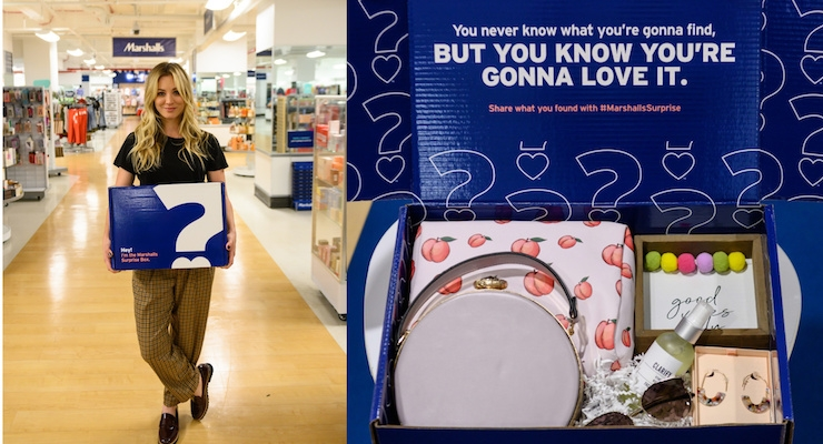 Marshalls Recruits Kaley Cuoco To Unveil 'Surprise Boxes'
