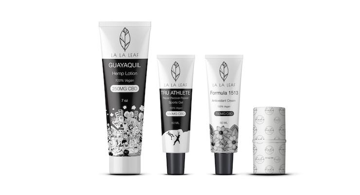 New CBD-Infused Skincare line Launches, La La Leaf