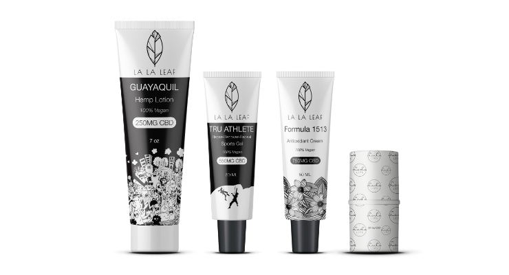 La La Leaf Skincare Brand Launches