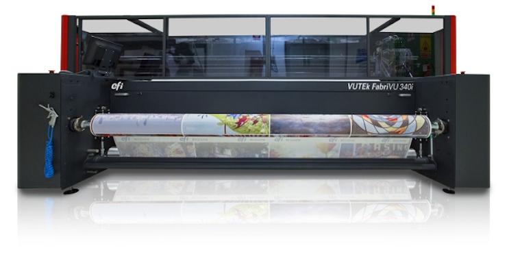 The Flag Shop Adds EFI VUTEk FabriVU Printer