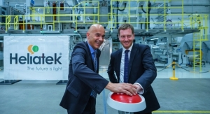 Heliatek Inaugurates Organic Solar Film Series Production Facility