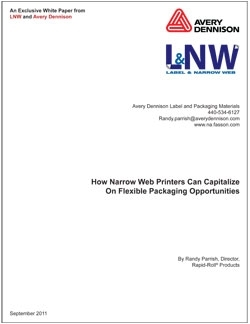 How Narrow-Web Printers Can Capitalize On Flexible Packaging Opportunities
