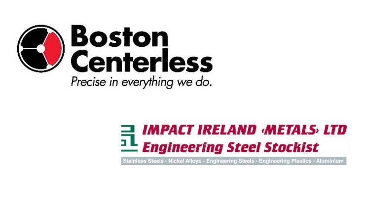 Boston Centerless Appoints Impact Ireland (Metals) Ltd. as Exclusive U.K. & Ireland Distributor