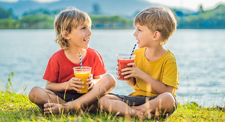 Beverage Market for Kids Undergoes Healthy Overhaul