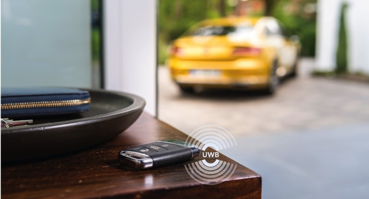 NXP, VW Share Possibilities of Ultra-Wideband's Fine Ranging Capabilities