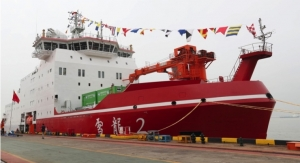 AkzoNobel Coats Chinese Polar Icebreaker
