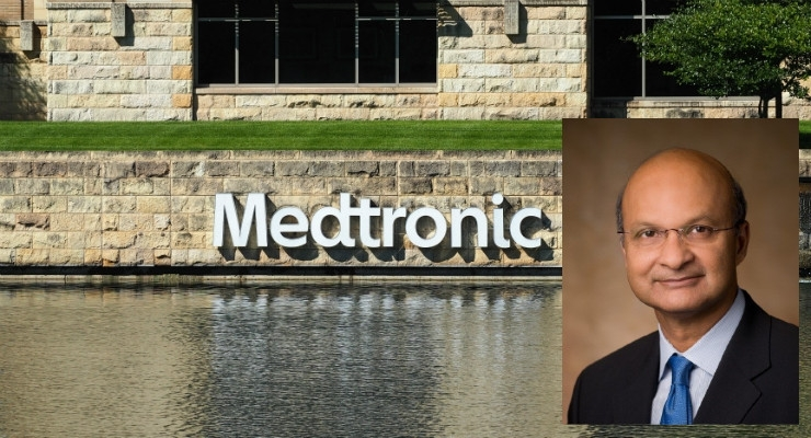Medtronic's Omar Ishrak to Retire as CEO at Fiscal End