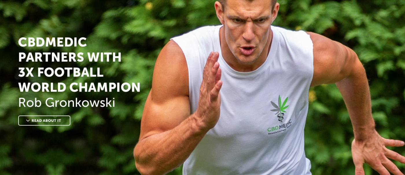 Gronk Picks CBD Over OTA