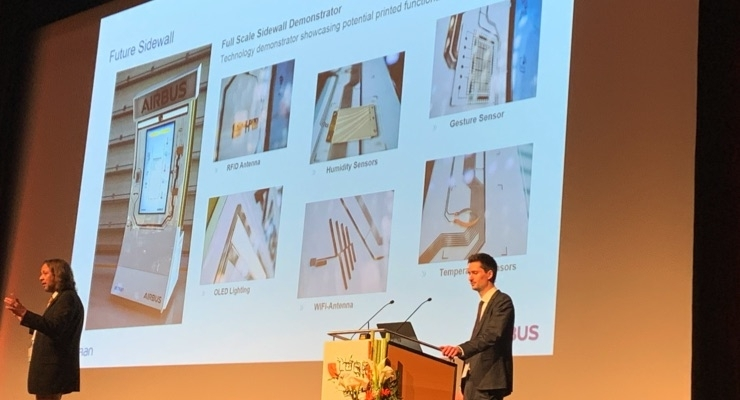 Airbus Shows Possibilities of Flexible Electronics in Aerospace