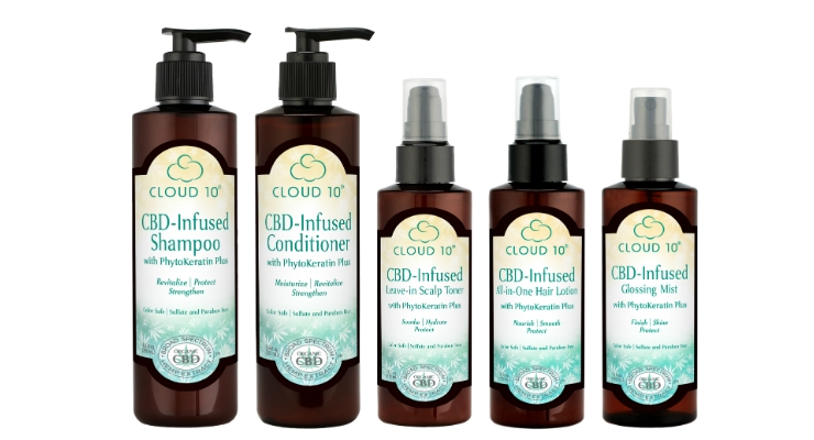 Cloud10 CBD-Infused Hair Care