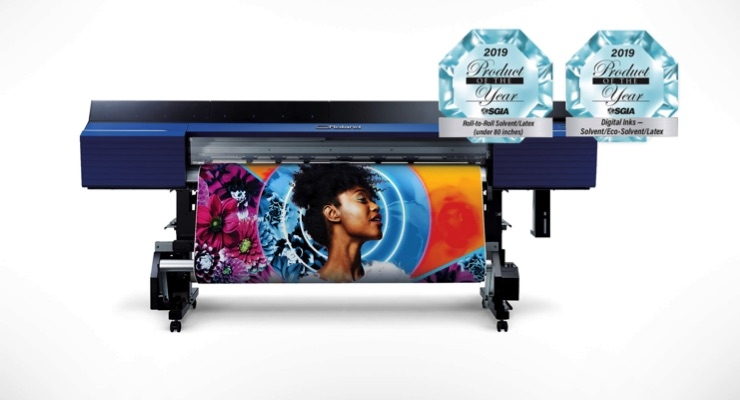 Roland DGA Wins Three SGIA 2019 Product of the Year Awards
