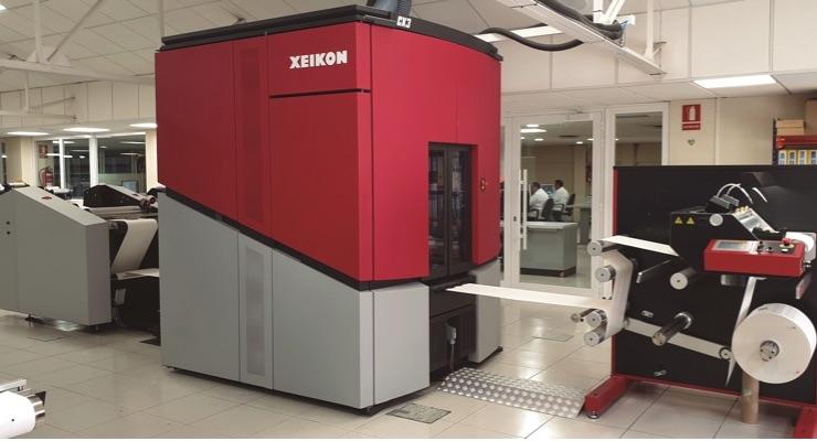ARGRAF Acquires Xeikon CX3 Digital Press