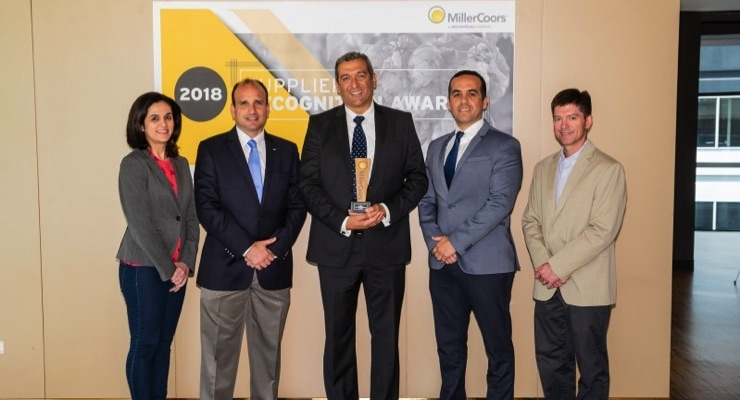 MillerCoors Names Crown Beverage Packaging Mexico 2018 Supplier of the Year, Most Valuable Plant