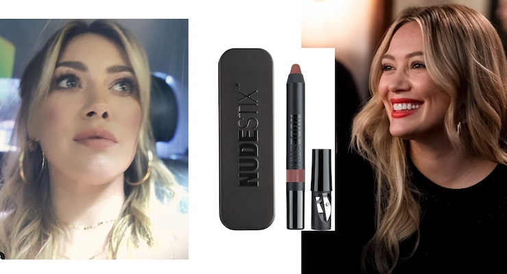 Hilary Duff Launches a Nudestix Makeup Collection