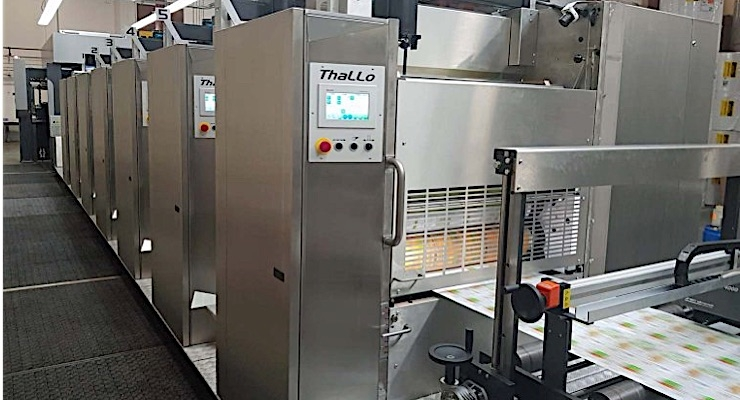 Contiweb demonstrates Thallo web offset press