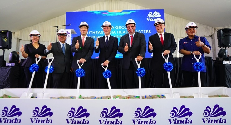 Vinda to Establish Regional Headquarters in Malaysia
