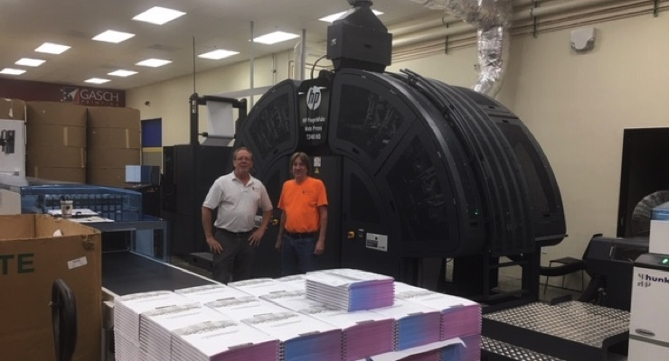 Gasch Printing Adds HP PageWide T240 HD