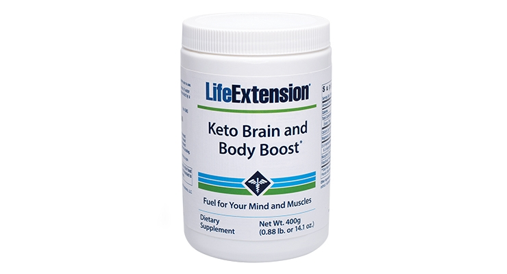 Life Extension's Ready-to-Mix Keto Powder Boosts Metabolism & Cognition
